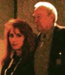 Nella foto Richard Anuszkiewicz con l'artista Anna Maria Guarnieri