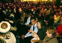 Il pubblico che ha assistito alla consegna del premio Lorenzo il Magnifico.