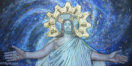 Cristo cosmico by Anna Maria Guarnieri